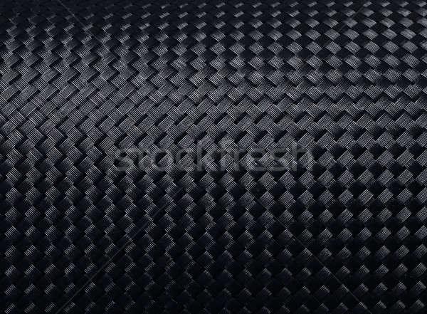 Woven carbon fibre Stock photo © Anterovium
