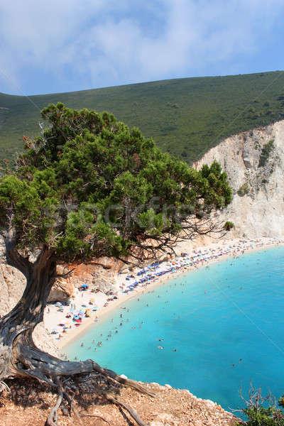Porto Katsiki beach Stock photo © Anterovium