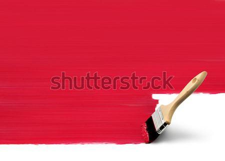 Analogique pinceau numérique traditionnel brosse peinture Photo stock © Anterovium