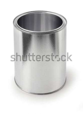 Empty metal can Stock photo © Anterovium