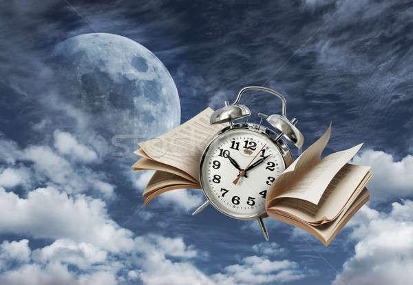 Time flies history concept Stock photo © Anterovium