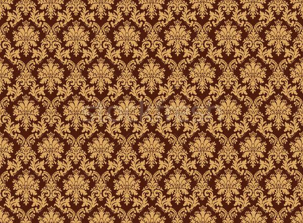 дамаст шаблон стены классический стиль бесшовный Сток-фото © Anterovium