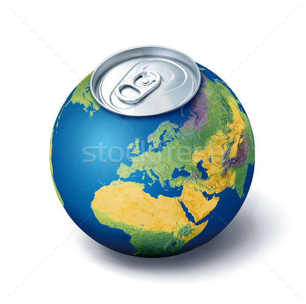 Thirsty planet concept Stock photo © Anterovium