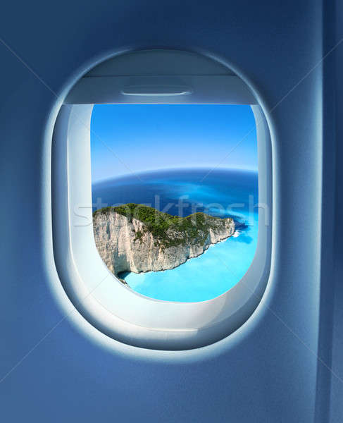 Approaching holiday destination Stock photo © Anterovium