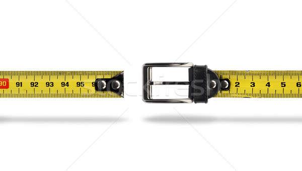 Weight loss measure belt gap Stock photo © Anterovium