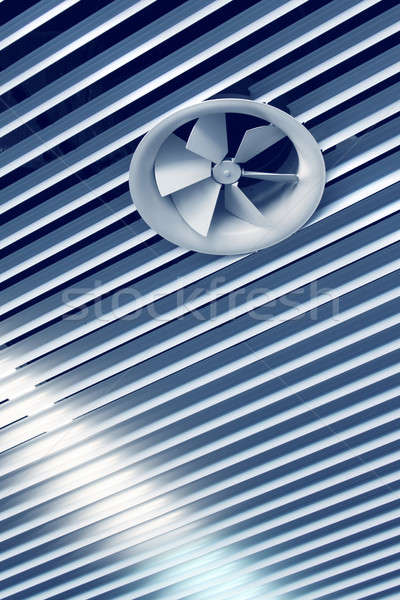 Cool air vent fan Stock photo © Anterovium