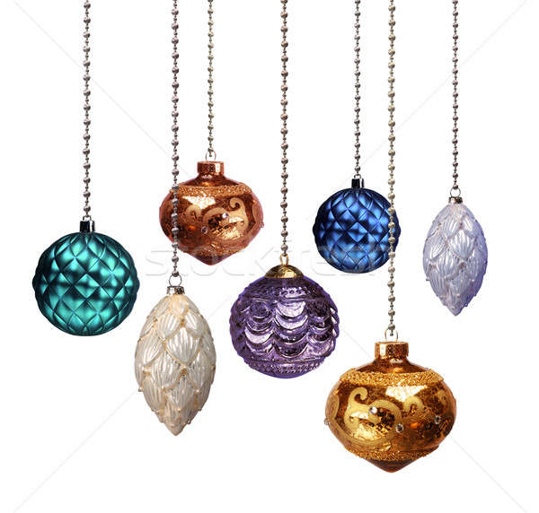 Christmas decoration colour variables Stock photo © Anterovium