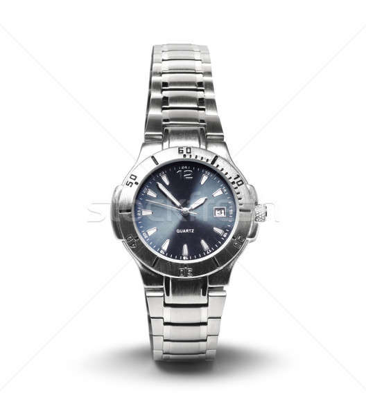 Men's wrist watch isolated Stock photo © Anterovium