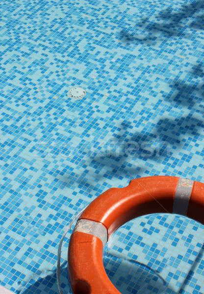 Pool and life saver Stock photo © Anterovium