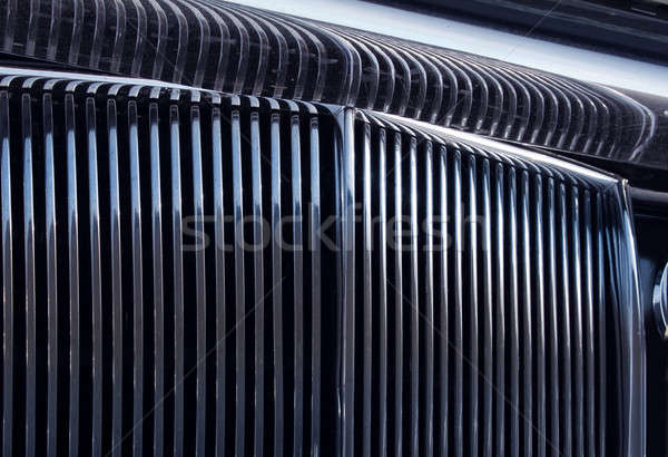 Chromed grille Stock photo © Anterovium