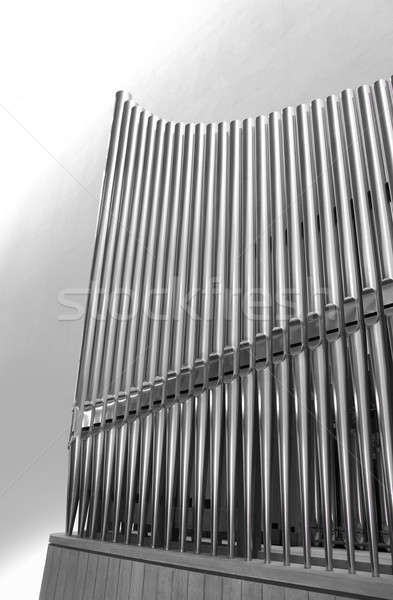 Organ pipes vertical Stock photo © Anterovium