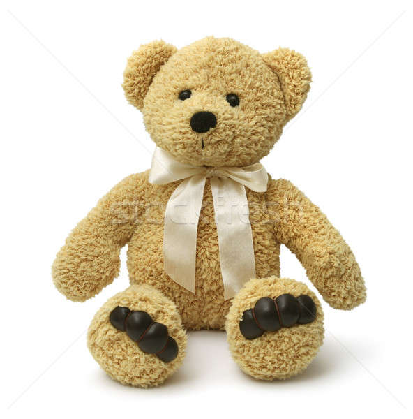 Teddy bear sitting Stock photo © Anterovium