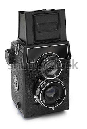 Old russian camera Stock photo © Anterovium