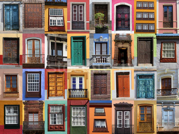 Stock photo: Colorful living