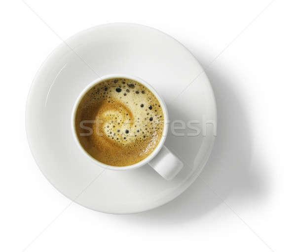 Кубок эспрессо кофе белый Top мнение Сток-фото © Anterovium