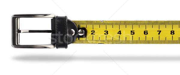 Weight loss tape measure belt Stock photo © Anterovium