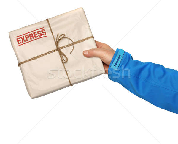 Mail express delivery Stock photo © Anterovium