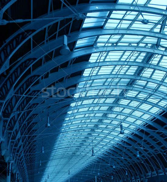 Steel structure corridor Stock photo © Anterovium