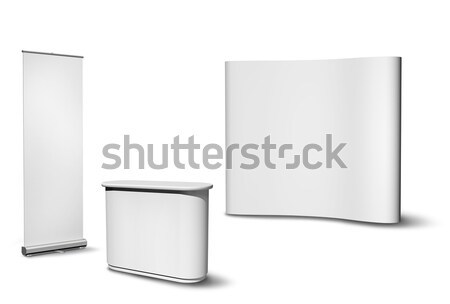 Exhibition fair stand Stock photo © Anterovium