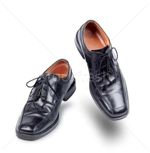 Succesful business shoes dancing Stock photo © Anterovium