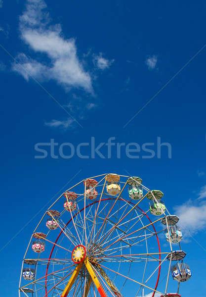 Colorful Ferris wheel Stock photo © Anterovium