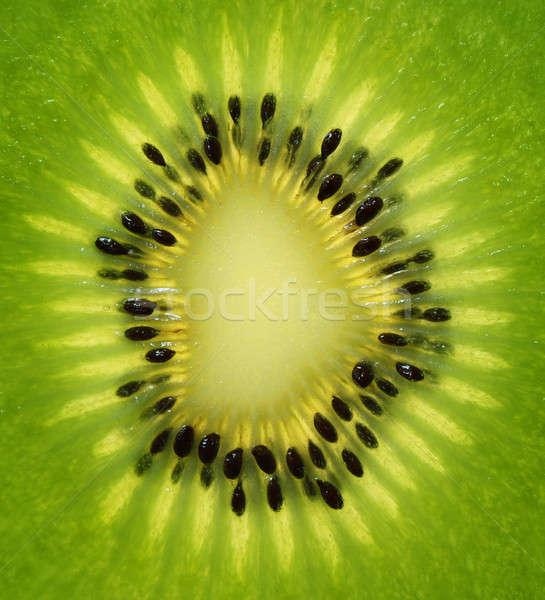 свежие киви ломтик зеленый фрукты Сток-фото © Anterovium