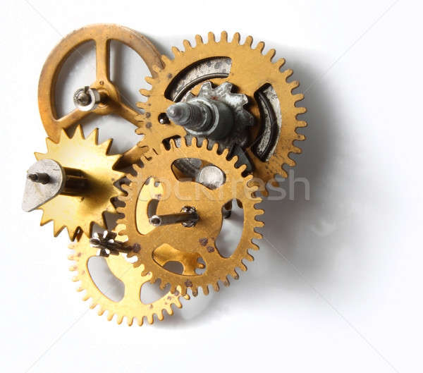 Olc clock mechanism Stock photo © Anterovium