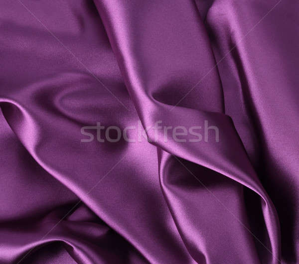 Ondulado dobrado cetim seda luxo brilhante Foto stock © Anterovium