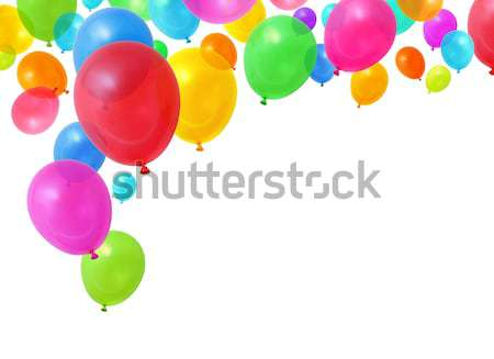 Party balloons flying Stock photo © Anterovium