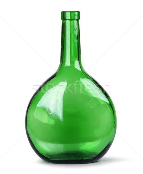 Exotic green glass bottle Stock photo © Anterovium
