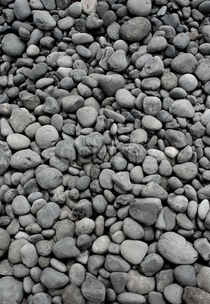 Grey pebble stones Stock photo © Anterovium