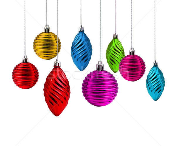 Christmas decoration spectrum Stock photo © Anterovium