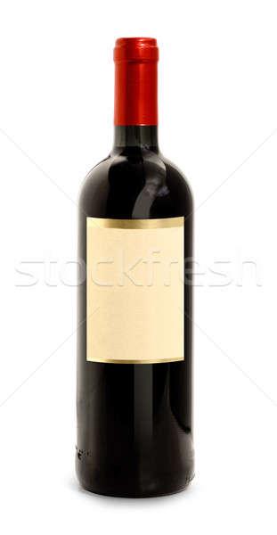 Red wine bottle Stock photo © Anterovium