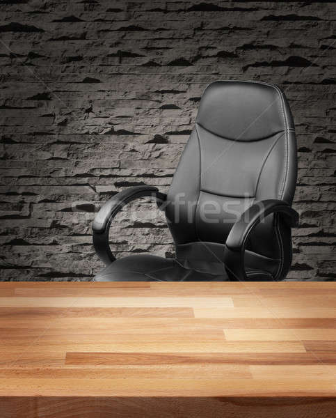Executive chair in luxury office business concept Stock photo © Anterovium