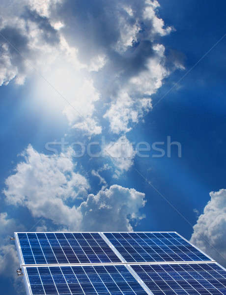 Solar energy Stock photo © Anterovium