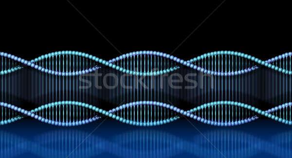 ДНК спираль клонирование спиральных Код Сток-фото © Anterovium
