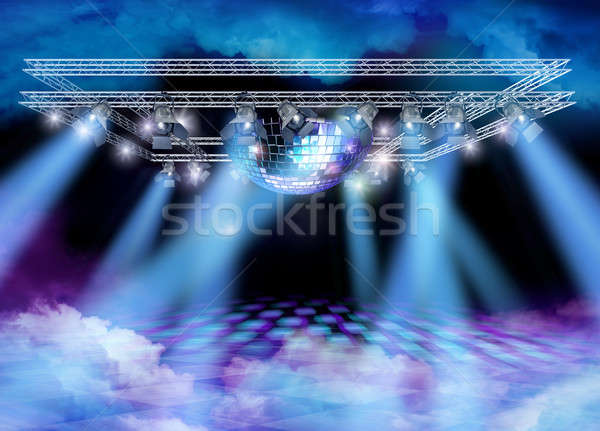 Disco heaven spectacle Stock photo © Anterovium