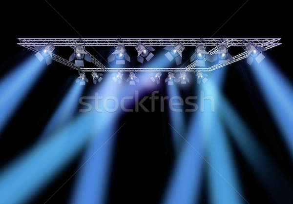 Rock stage lighting Stock photo © Anterovium