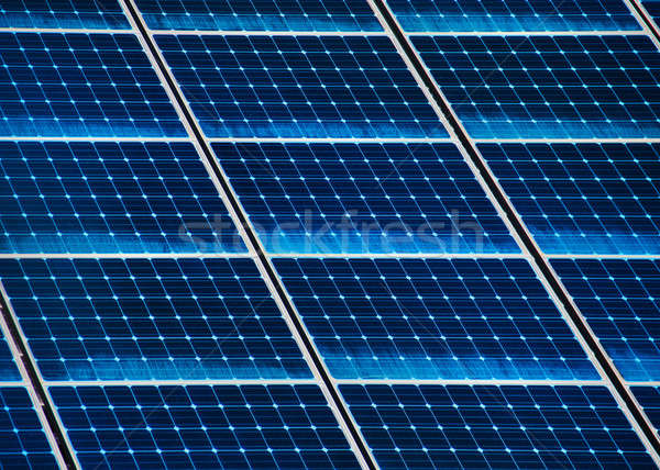 Solar panel close Stock photo © Anterovium