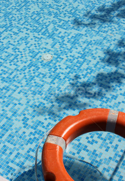 Pool and life saver Stock photo © Anterovium