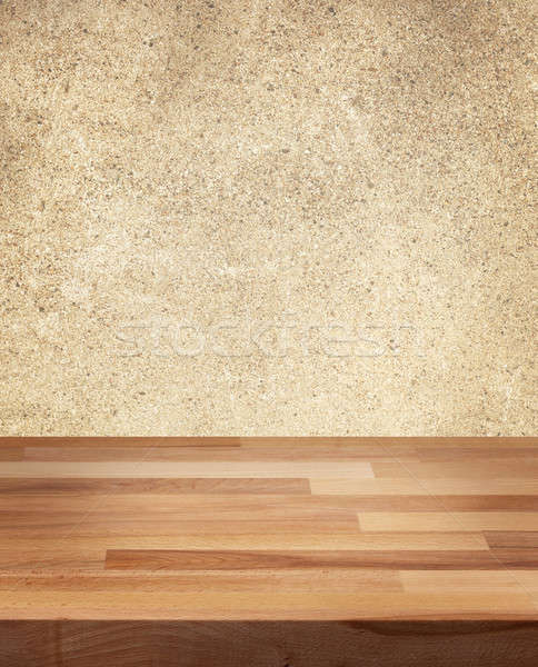 Product photo template Wooden Table Stock photo © Anterovium
