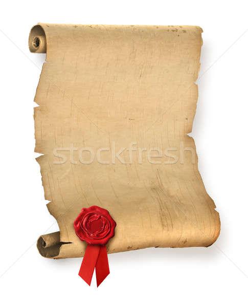 Ancient document Stock photo © Anterovium