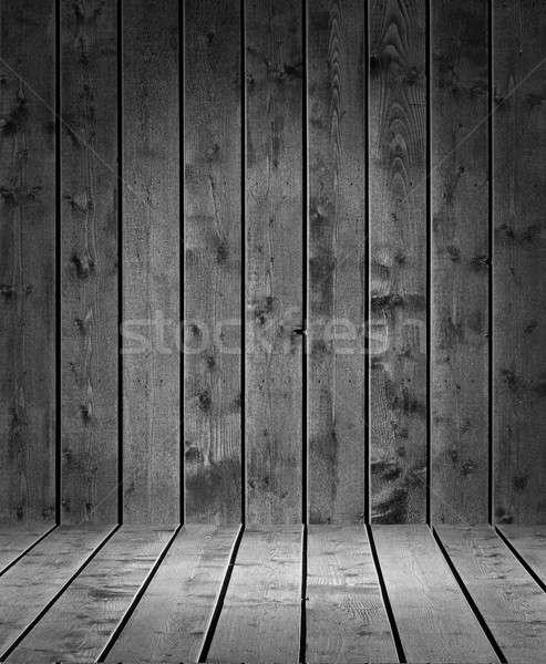 Product photo template Grey Wood Stock photo © Anterovium