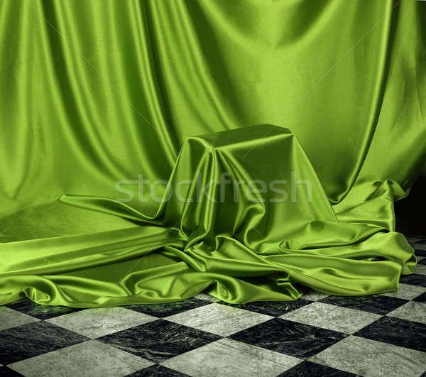 Secret green mystery Stock photo © Anterovium
