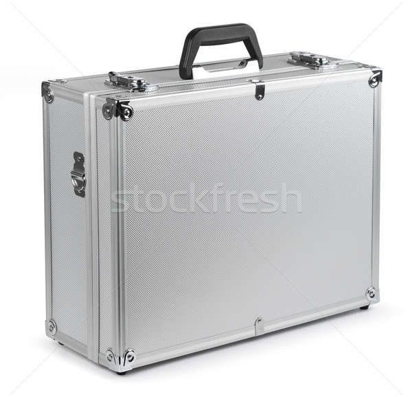 Aluminum safety briefcase Stock photo © Anterovium