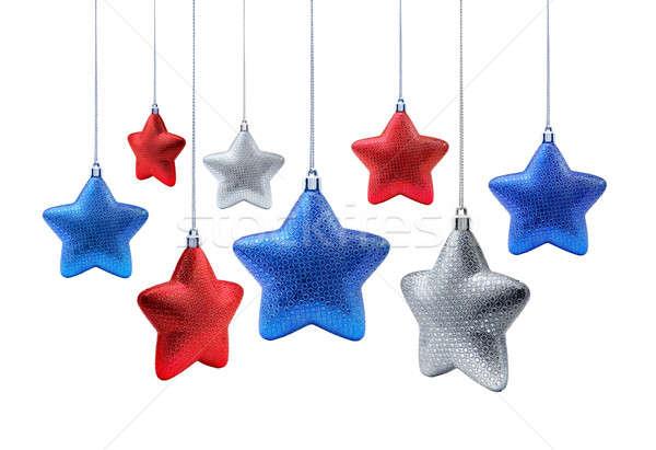 National New Year stars Stock photo © Anterovium