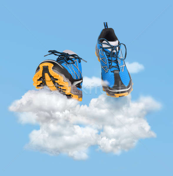 Soft running and walking concept Stock photo © Anterovium