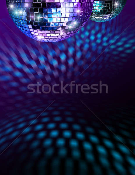 Disco mirro balls Stock photo © Anterovium