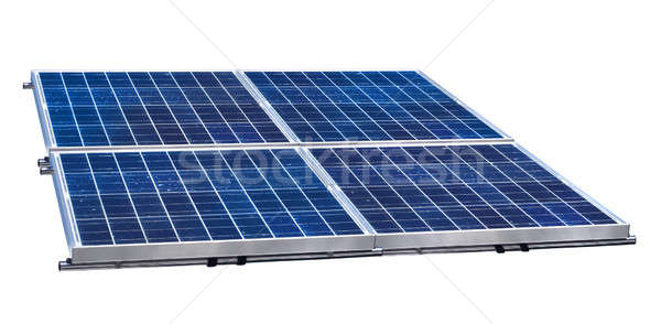 Solar panels Stock photo © Anterovium