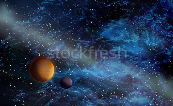 Deep space phenom Stock photo © Anterovium